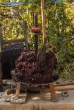 Wijnbereiding Technologie van wijnproductie royalty-vrije stock foto