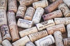Wijncork Stock Foto's