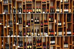 Wijnen Stock Fotografie