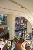 Wijnen en Geesten Duplexopslag bij de Luchthaven van Singapore Changi Royalty-vrije Stock Foto