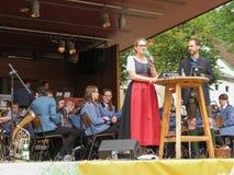 Wijnfestival in Poysdorf royalty-vrije stock foto's