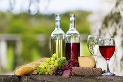 Wijnflessen Royalty-vrije Stock Fotografie
