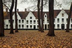 10 Wijngaerde Брюгге Béguinage, Бельгия Стоковые Изображения RF