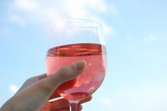 Wijnglas Stock Afbeeldingen