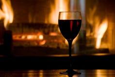 Wijnglas stock afbeelding