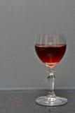Wijnglas op granietbank Royalty-vrije Stock Foto
