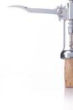 Wijnglas tegen een witte achtergrond Royalty-vrije Stock Fotografie