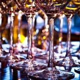 Wijnglazen Stock Foto's
