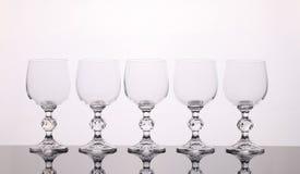 Wijnglazen vector illustratie