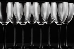 Wijnglazen Stock Fotografie