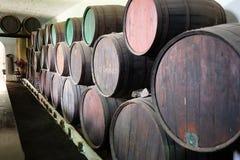 Wijnkelder Stock Foto's
