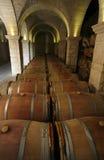 Wijnkelder Royalty-vrije Stock Foto's