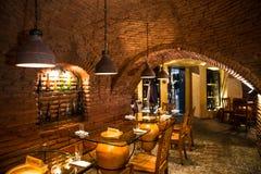 Wijnkelder in Georgië stock fotografie