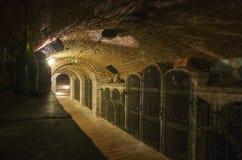 Wijnkelder Valtice, Moravië, Tsjechische Republiek Royalty-vrije Stock Afbeelding