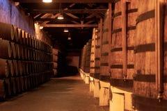 Wijnkelders Royalty-vrije Stock Afbeeldingen