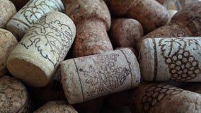 Wijnkurken Royalty-vrije Stock Foto