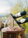Wijnlijst Royalty-vrije Stock Fotografie
