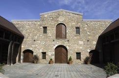 Wijnmakerij, Napa, Californië Royalty-vrije Stock Foto's