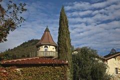 Wijnmakerij Sonoma royalty-vrije stock foto's