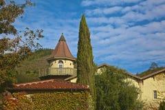 Wijnmakerij Sonoma Californië stock afbeelding