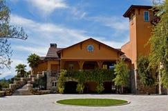 Wijnmakerij in Vallei Napa royalty-vrije stock fotografie