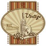 Wijnmarkering royalty-vrije illustratie