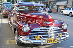 Wijnoogst 1947 Chevrolet Royalty-vrije Stock Foto's