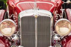 Wijnoogst 1933 Chrysler Keizer Royalty-vrije Stock Afbeeldingen