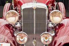 Wijnoogst 1933 Chrysler Keizer Royalty-vrije Stock Foto