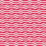 Wijnoogst die naadloos patroon met eenvoudige geometrische vormen betegelen Abstract retro ornament met lijnen stock illustratie