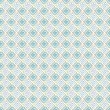 Wijnoogst die naadloos patroon met spiralen betegelen Abstract retro ornament met eenvoudige vormen stock illustratie