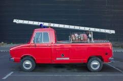 Wijnoogst firetruck Royalty-vrije Stock Foto's