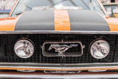 Wijnoogst 1965 Ford Mustang Muscle Car Royalty-vrije Stock Foto's