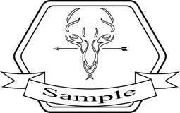 Wijnoogst gestileerde ontwerp hipster pictogrammen Vectortekens en symbolenmalplaatjes vector illustratie