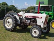Wijnoogst herstelde David Brown Selectamatic-tractor Royalty-vrije Stock Foto