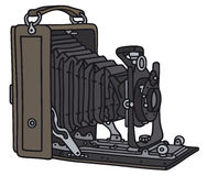 Wijnoogst 35mm Camera SLR stock illustratie
