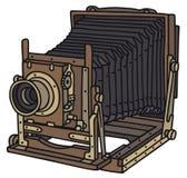 Wijnoogst 35mm Camera SLR royalty-vrije illustratie