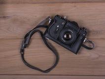 Wijnoogst 35mm Camera SLR Royalty-vrije Stock Foto's