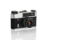 Wijnoogst 35mm Camera SLR Stock Afbeelding