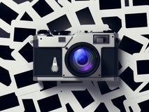 Wijnoogst 35mm Camera SLR Stock Afbeeldingen