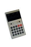 Wijnoogst: oude calculator royalty-vrije stock foto