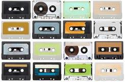 Wijnoogst van de muziek de audioband royalty-vrije stock fotografie