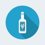 Wijnpictogram Stock Foto