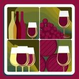 Wijnproductie Royalty-vrije Stock Afbeeldingen