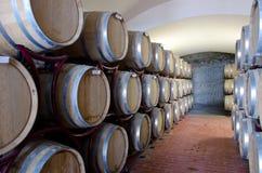 Wijnproductie Stock Foto