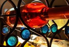 Wijnrek Royalty-vrije Stock Foto