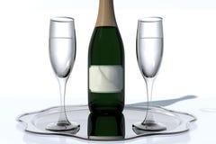 Wijnstilleven Royalty-vrije Stock Foto