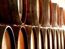 Wijnvatten Stock Afbeelding