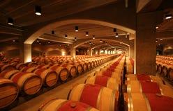 Wijnvatten royalty-vrije stock afbeelding