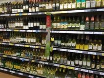 Wijnvertoning Stock Foto's